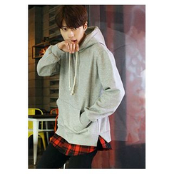 HOTBOOM - Cotton Hooded Pullover