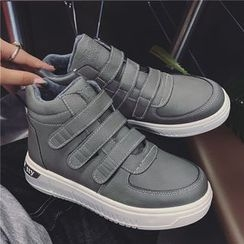 Hipsole - Velcro High-Top Sneakers