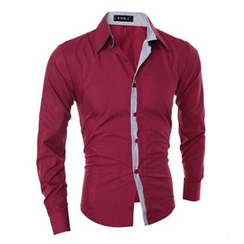 Hansel - Color Block Shirt