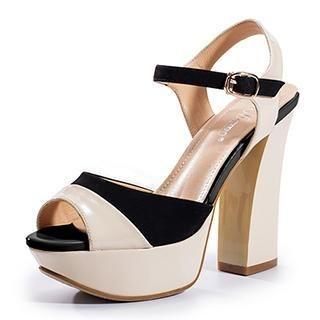 Exull - Platform Heel Sandals