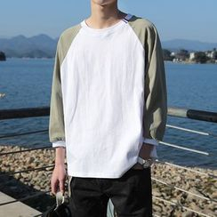 Breeson - Raglan 3/4-Sleeve T-Shirt