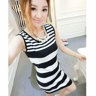 Ando Store - Stripe Tank Dress