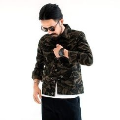 YIDESIMPLE - Camo Jacket