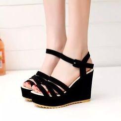 Sunsteps - Strappy Wedge Sandals