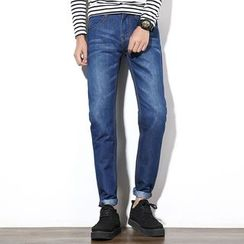 Hawoo - 修身牛仔褲