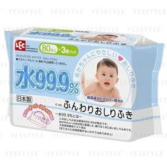 LEC - Water 99.9% Baby Wipes