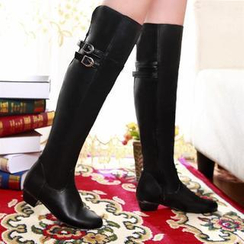 Pangmama - Buckled Tall Boots