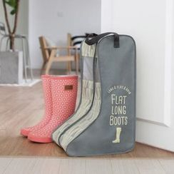 iswas - Patterned Flat Long Boot Organizer