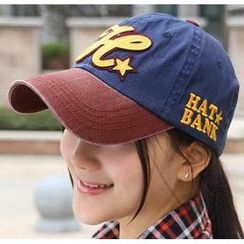 貴倫美 - Lettering Embroidered Baseball Cap