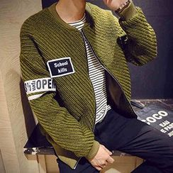 Prep Soul - Appliqué Knit Jacket