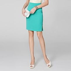 O.SA - Side-Zip Pencil Skirt