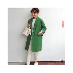 LEELIN - One-Button Coat