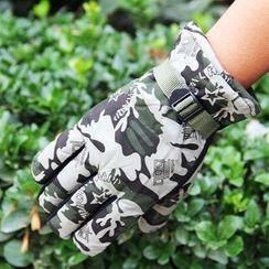 Fow Fow - 迷彩保暖户外手套