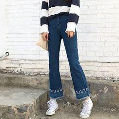 Jeans Kingdom - 水洗靴型牛仔裤