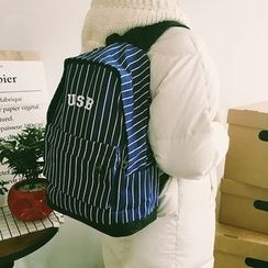 FROME - Striped Backpack