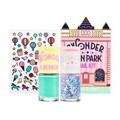 Etude House 伊蒂之屋 - Wonder Fun Park Nail Kit: Nail 8ml x 2 + Sticker 1pc