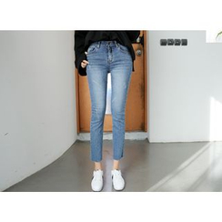 Envy Look - Washed Slim-Fit Jeans