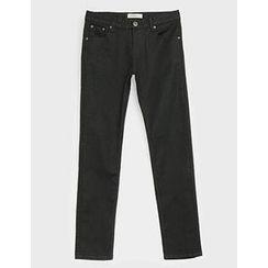 STYLEMAN - Plain Straight-Cut Pants
