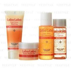 DR.Ci:Labo - Labo Labo Travel Set : Oil Cleansing 20ml + Washing 15g + Lotion 18ml + Gel 10g