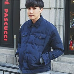 MITOSHOP - Dual-Pocket Padded Jacket
