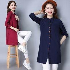 Yeeya - Linen Long Shirt