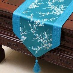 Sun East - 圖案絲質桌墊