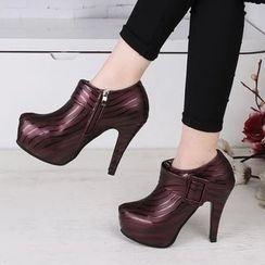 Yoflap - High Heel Ankle Boots