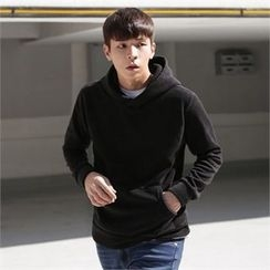 Superstar.i - Hooded Kangaroo-Pocket Pullover
