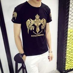 JEUX - Print Short-Sleeve T-shirt