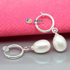 ViVi Pearl - Freshwater Pearl Clip-On Earrings