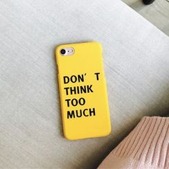 Milk Maid - Lettering iPhone 6 /6 Plus / 7 / 7 Plus Case