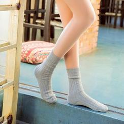 Ganki - 罗纹袜