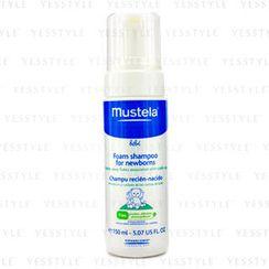Mustela - 初生嬰兒泡沫洗頭水