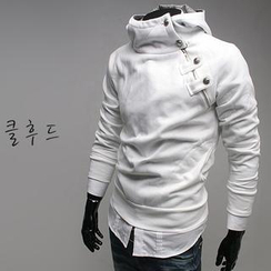 WIZIKOREA - Hooded Pullover