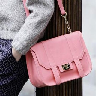 MBaoBao - Twist-Lock Flap Cross Bag