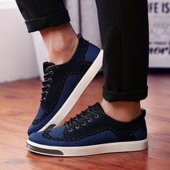 BINSHOU - Lace-Up Sneakers