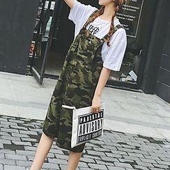 Glen Glam - Camouflage Jumper Skirt