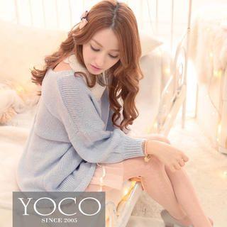 Tokyo Fashion - Bow-Back Dolman-Sleeve Sweater