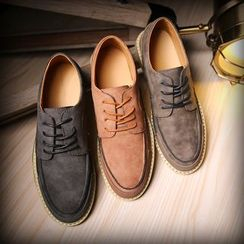 Hipsteria - Lace-Up Casual Shoes