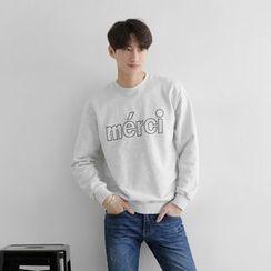 Seoul Homme - Printed Sweatshirt