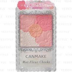 Canmake - Mat Fleur Cheeks (#01 Matte Aqricot)