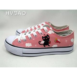 HVBAO - 'Kitty Stories' Canvas Sneakers