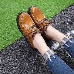 Chryse - 厚底船鞋
