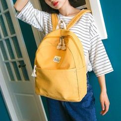 Glorieta - Plain Canvas Backpack