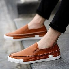Easy Steps - Faux-Leather Slip-Ons