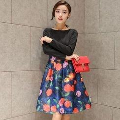 EFO - 假两件连衣裙