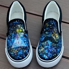 BUDING - Canvas Slip Ons