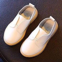 Luco - Kids Faux Leather Slip-Ons