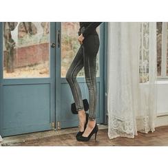 UUZONE - Gradient Skinny Pants