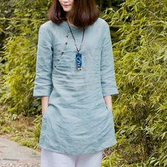 兰芝 - 七分袖裙衣